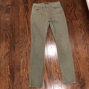 7 For All Mankind Size 27 stretch skinny jeans